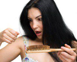 Обильное выпадение волос с головы