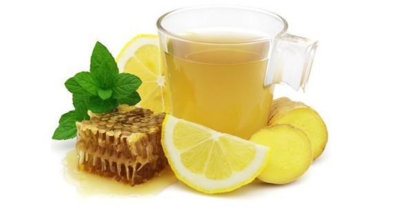 Мед. лимон, имбирь