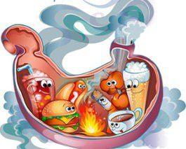 Причины развития изжоги