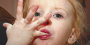 Облизать палец