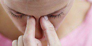 Боль при насморке