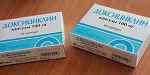 Доксициклин таблетки