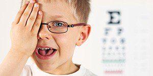 Плохое зрение у детей
