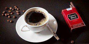 Кофе и сигареты - вредные факторы для сердца