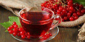 Чай с калины красной