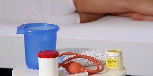 Спринцевание при хроническом сальпингоофорите