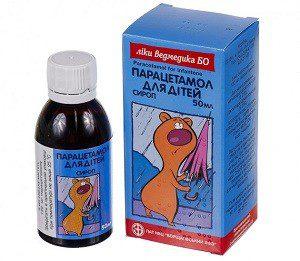 Парацетамол сироп