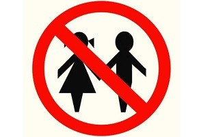 Запрет для детей