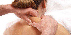 Массаж при отложении солей на шее