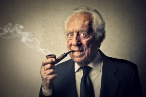 Мужчина пожилого возраста